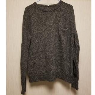 ムジルシリョウヒン(MUJI (無印良品))の無印良品 ポッケ付 ニット セーター M(ニット/セーター)