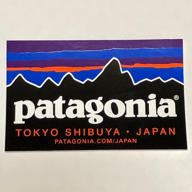 c5f7193ce4de4 patagonia(パタゴニア)のパタゴニア 東京渋谷ショップ限定ロゴステッカー スポーツ アウトドアの