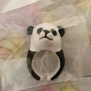 ファンキーフルーツ(FUNKY FRUIT)の立体リアルパンダリング☆(リング(指輪))