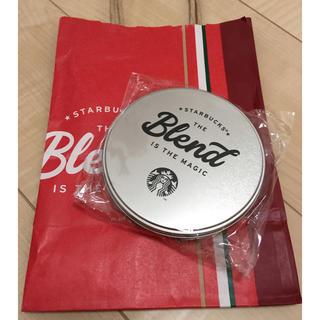 Starbucks Coffee - ☆スターバックス ホリデー ステッカー 缶☆店舗限定未開封ノベルティ