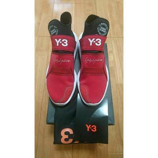 ワイスリー(Y-3)の☆Y-3 ワイスリー スニーカー 27.5cm UK9 レッド(スニーカー)
