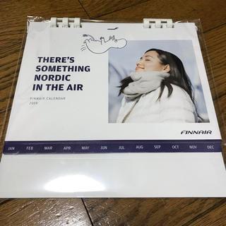 2019年 フィンエアー卓上カレンダー  フィンランド航空・ムーミン(航空機)
