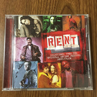 RENT CD サウンドトラック アルバム(映画音楽)
