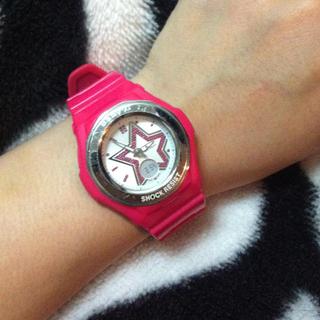 ベビージー(Baby-G)の☆ラインストーン Baby-G 腕時計(腕時計)