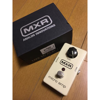 MXR M-133 micro amp(エフェクター)
