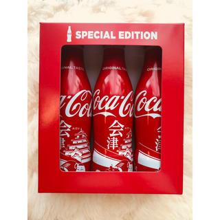 コカ・コーラ - コカコーラ 会津限定ボトル 3本セット