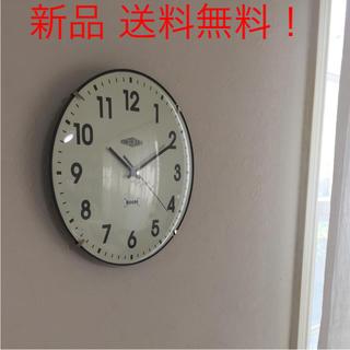 【新品・送料無料】オールディーズ  壁掛け時計 静かなスイープ秒針(掛時計/柱時計)