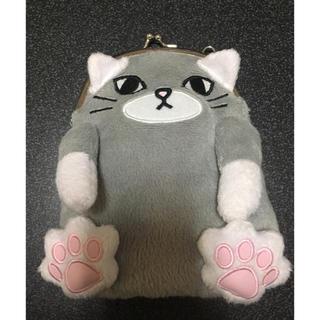 【新品、未使用】猫のがま口ポシェット(ポシェット)