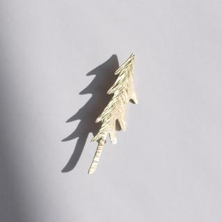 mina perhonen - 真鍮ブローチ もりの木 ハンドメイド オリジナル