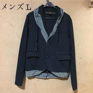 ニーウ(NIR)のLサイズ【NIR(ニーウ)】フードデザインジャケット(テーラードジャケット)