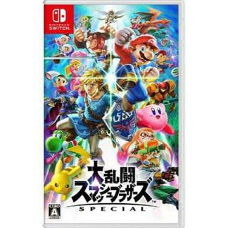 ニンテンドースイッチ(Nintendo Switch)の新品未使用 switch ソフト  大乱闘スマッシュブラザーズ(家庭用ゲームソフト)
