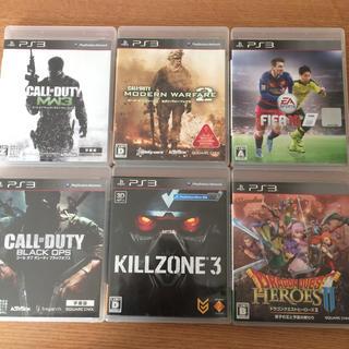 PlayStation3 - PS3 ソフト6本セット ドラクエヒーローズ コールオブデューティー サッカー