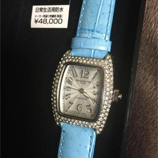 アレッサンドラオーラ(ALESSANdRA OLLA)の【値引‼︎】アレッサンドラオーラ ♡ 腕時計  ブルー未使用(腕時計)