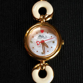 ジルバイジルスチュアート(JILL by JILLSTUART)のジルスチュアート ☆ 腕時計   稼働品 ⑥(腕時計)