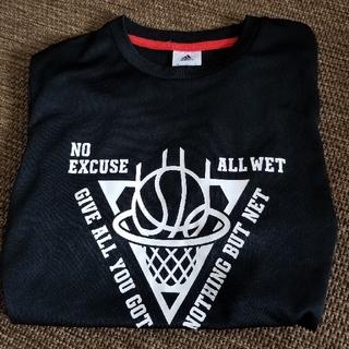 アディダス(adidas)のバスケット アディダス 半袖 黒 150(バスケットボール)