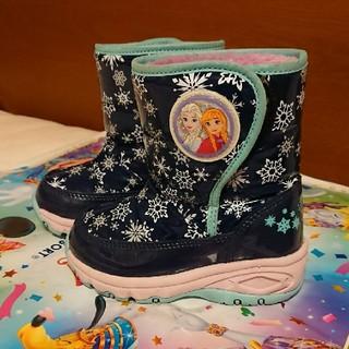 ディズニー(Disney)の週末セール 子供 スノーブーツ 14㎝ ムーンスター アナと雪の女王(ブーツ)