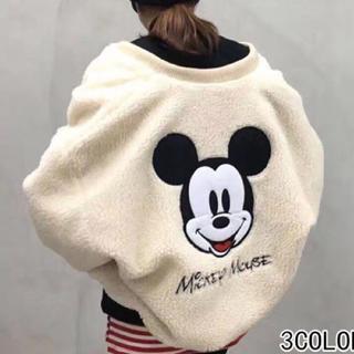 ディズニー(Disney)のミッキー ボアブルゾン【着払い】(ブルゾン)