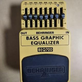 ベースイコライザー BEQ700(エフェクター)