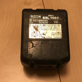 ヒタチ(日立)のセル様専用 日立 バッテリー 14.4v 6.0Ah(バッテリー/充電器)
