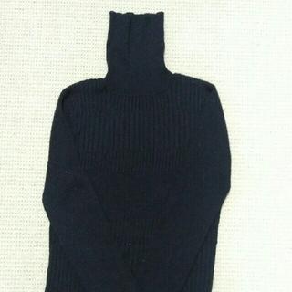 エイエスエム(A.S.M ATELIER SAB MEN)のA.S.M 黒 メンズ タートルニット(ニット/セーター)