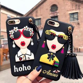 アリスアンドオリビア(Alice+Olivia)のインポート 欧米風 個性的 iPhoneケース(iPhoneケース)