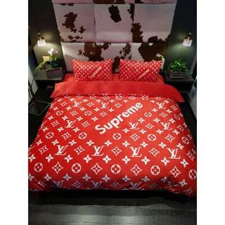 ルイヴィトン(LOUIS VUITTON)のLouis Vuitton寝具カバー 4点セット 掛け布団カバー おしゃれ(シーツ/カバー)