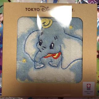 イマバリタオル(今治タオル)の東京ディズニーリゾートお土産品ダンボのミニタオル今治タオル製25×25(タオル)