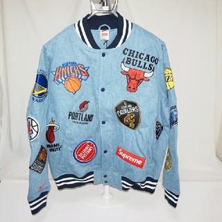 シュプリーム(Supreme)のSupreme  NIKE 18SS NBA  Jacket  Mサイズ (スタジャン)