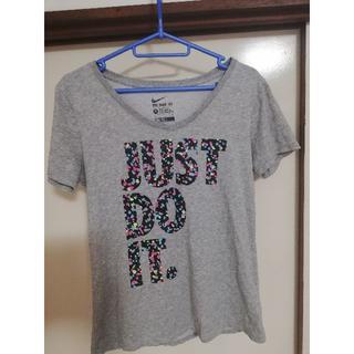 ナイキ(NIKE)のNIKE JUST DO IT レディース Tシャツ Lサイズ(Tシャツ(半袖/袖なし))