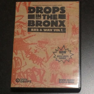 DROPS IN THE BRONX RX2&WAV VOL 1(ソフトウェア音源)