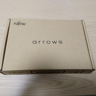 フジツウ(富士通)のでんたく様専用 arrows M04 ホワイト SIMフリー(スマートフォン本体)
