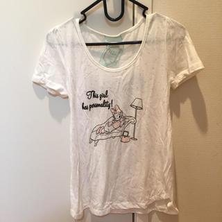 ウエンディーネ(Wendine)のウンディーネ デイジー Tシャツ(Tシャツ(半袖/袖なし))