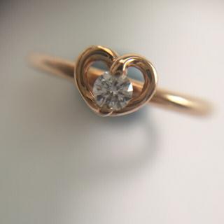 ポンテヴェキオ(PonteVecchio)のポンテヴェキオ ハートダイヤリング(リング(指輪))