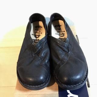 トリッペン(trippen)のTrippen Trixy black 38(ローファー/革靴)