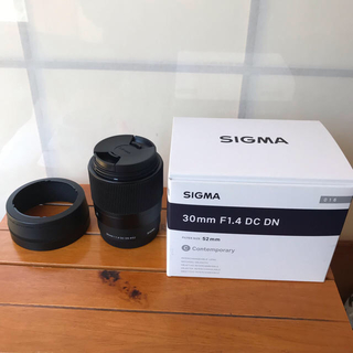 シグマ(SIGMA)のシグマ ソニーEマウント用 30mm F1.4 DC DN(レンズ(単焦点))