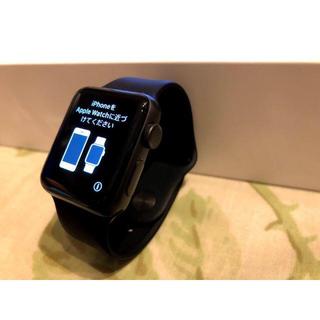 アップルウォッチ(Apple Watch)のapple watch series2 38mm MPOE2J/A(腕時計(デジタル))