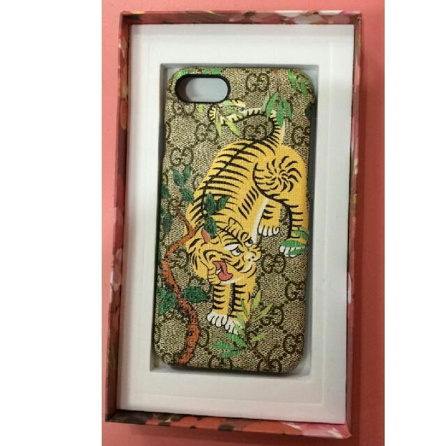 Gucci - グッチ IPHONE  テレホケース iPhone7/8ケース 虎柄 アイフォンの通販 by Winner's shop|グッチならラクマ