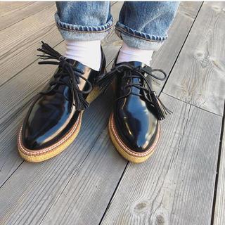 トゥデイフル(TODAYFUL)のTODAYFUL Tassel Flat Shoes(ローファー/革靴)