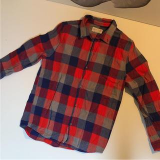 ザラ(ZARA)のZARA ザラ チェックシャツ ネルシャツ 164センチ(ジャケット/上着)