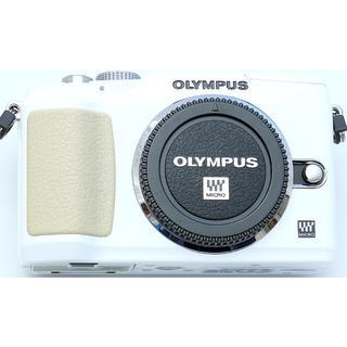 オリンパス(OLYMPUS)のオリンパスEPL2ホワイトボディ(ミラーレス一眼)