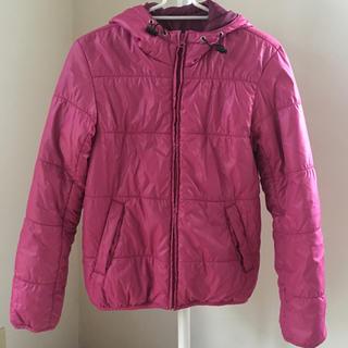 ジーユー(GU)の中綿ジャケット  アウター  gu   ジーユー  上着  ピンク ジャンパー(その他)