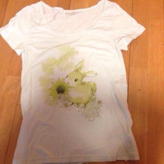 アースミュージックアンドエコロジー(earth music & ecology)のパステルカラーの半袖Tシャツ(シャツ/ブラウス(半袖/袖なし))
