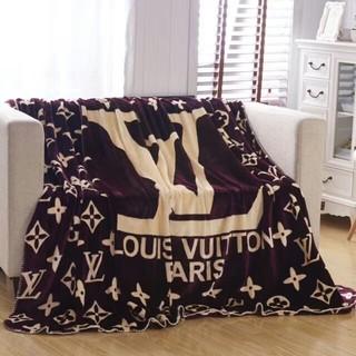 ルイヴィトン(LOUIS VUITTON)のLOUIS VUITTON 新品 ひざ掛け 毛布 寝具(毛布)