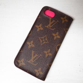 ルイヴィトン(LOUIS VUITTON)の正規品♡最安値♡ルイヴィトン フォリオ iPhoneケース 携帯カバー 小物(iPhoneケース)