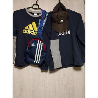 アディダス(adidas)のロングTシャツ、他 150  7点セット(Tシャツ/カットソー)