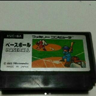 ファミリーコンピュータ(ファミリーコンピュータ)のファミコンカセット ベースボール (家庭用ゲームソフト)