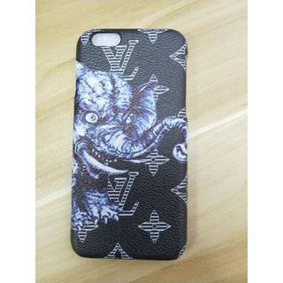 ルイヴィトン(LOUIS VUITTON)のLouis Vuitton iPhone6/6s 象 [ブラック] 電話ケース(iPhoneケース)