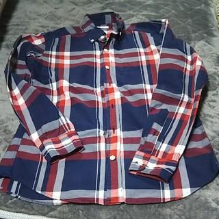 ジーユー(GU)のgu メンズ チェックシャツ(シャツ)
