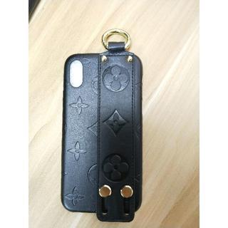 ルイヴィトン(LOUIS VUITTON)のLouis Vuitton iPhone X 手首サポート機能 黑(iPhoneケース)