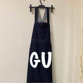 ジーユー(GU)のオールインワンデニムスカート  GU(オールインワン)